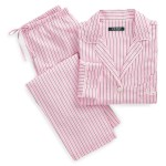 Striped Sateen Sleep Set