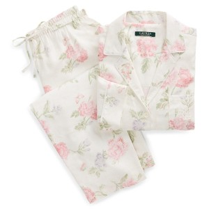 Floral Sateen Sleep Set