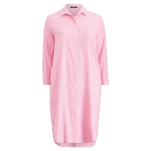 Long Twill Night Shirt