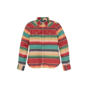 Serape Cotton Western Shirt