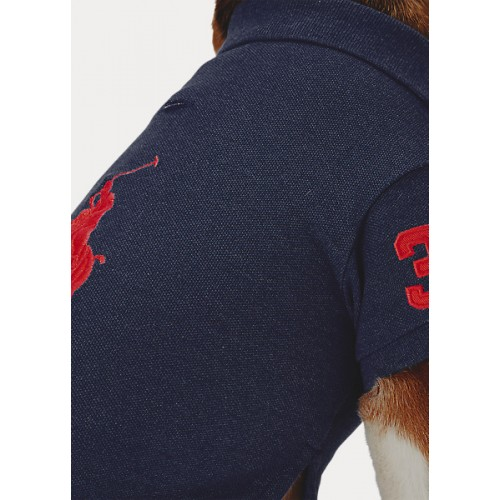 폴로 Cotton Piqué Dog Polo Shirt