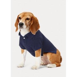 Cotton Piqué Dog Polo Shirt