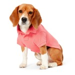 Cotton Pique Dog Polo Shirt