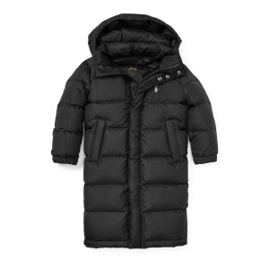 Quilted Long Down Coat