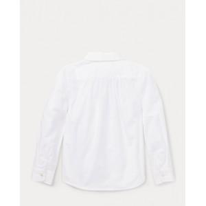 Pintucked Broadcloth Shirt