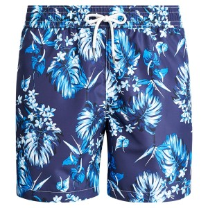 Traveler Floral Swim Trunk