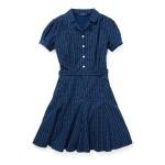 Print Cotton Poplin Dress