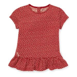 Floral Peplum T-Shirt