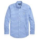 Classic Fit Plaid Poplin Shirt