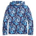 Floral Cotton Hooded T-Shirt