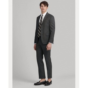 Polo Pin Dot Stretch Wool Suit