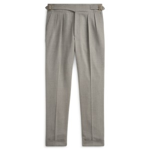 Wool Twill Suit Trouser