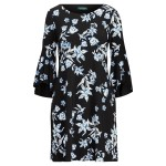 Floral Bell-Sleeve Dress