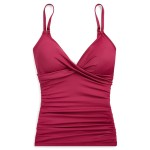 Slimming Ruched Tankini Top