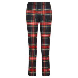 Tartan Stripe Skinny Pant