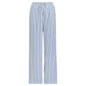 Striped Drawcord Twill Pant