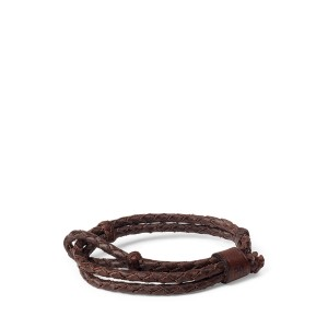 Hand-Braided Leather Bracelet
