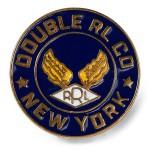 Logo Enameled Brass Pin