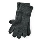 Cotton-Blend Touch Gloves