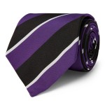 Striped Silk Mogador Tie