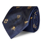 Yacht Silk Narrow Club Tie