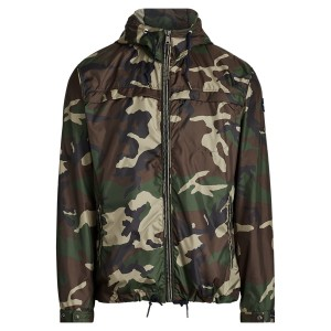 Camo Packable Jacket