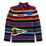 Serape Fleece Pullover