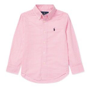 Gingham Cotton Poplin Shirt