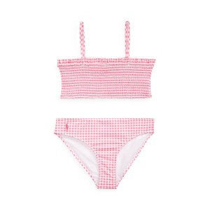 Gingham Two-Piece Swimsuit