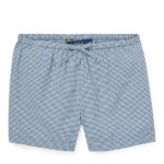 Gingham Cotton Poplin Short