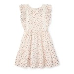 Floral Ruffled Cotton Dress