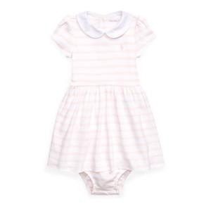Striped Cotton Dress  Bloomer