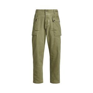 Relaxed Fit Twill Pant