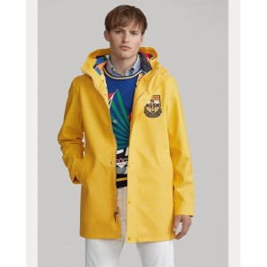 Rubberized Cotton Raincoat