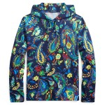 Paisley Jersey Hooded Tee