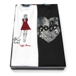 Graphic Tee 2-Piece Gift Set