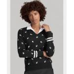UV Print Golf V-Neck Sweater