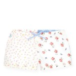 Mixed-Floral Cotton Short