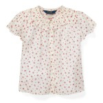Floral Cotton Batiste Top