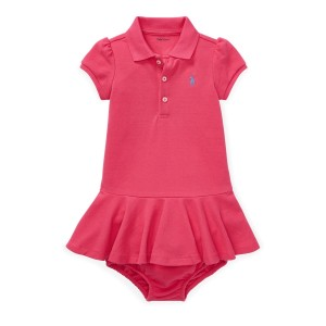 Piqu&eacute Polo Dress  Bloomer