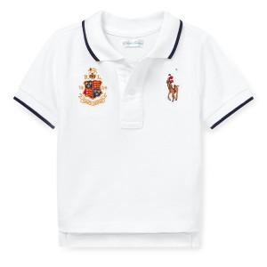 Piqu&eacute Mesh Polo Shirt