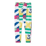 Patchwork Jersey Legging