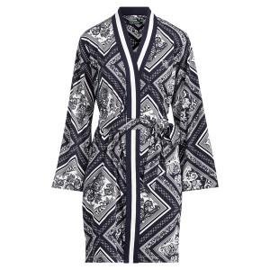 Print Cotton Robe