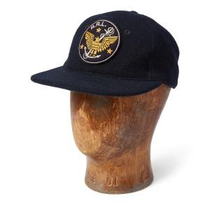 Wool-Blend Twill Ball Cap