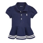 Cotton Piqu&eacute Peplum Polo