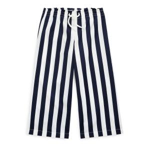 Striped Cotton Dobby Pant