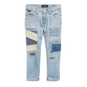 Astor Patchwork Slim Jean