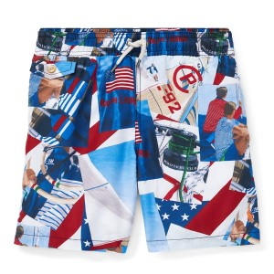 Traveler Nautical Swim Trunk