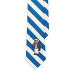 Bear Silk-Cotton Narrow Tie