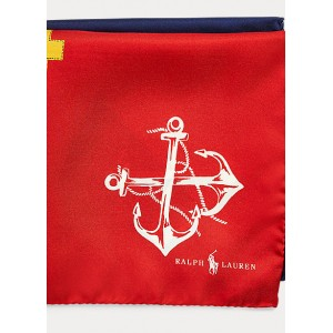 Nautical Silk Pocket Square